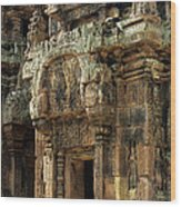 Banteay Srei Temple 01 Wood Print