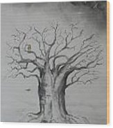 Baobab The Container Wood Print