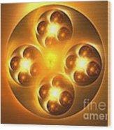 Baoding Balls Wood Print