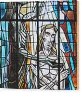 Baptism Of Jesus  Wood Print