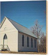 Baptist Church Wood Print