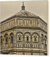 Baptistry - Florence Italy Wood Print
