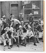 Bar Front, 1940 Wood Print