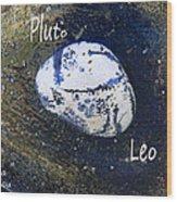 Barack Obama Pluto Wood Print by Augusta Stylianou