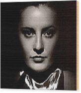 Barbara Stanwyck Early In Her Career C.1933-2014 Wood Print