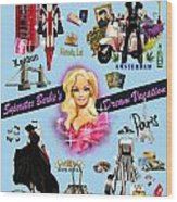 Barbie's Superstar Dream Vacation Wood Print