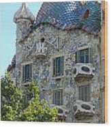 Barcelona Spain Wood Print