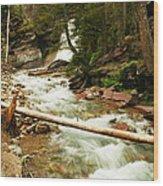 Baring Falls Wood Print
