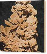 Barite Wood Print by Millard H. Sharp