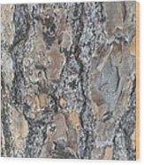 Bark Ix Wood Print