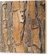 Bark Vi Wood Print