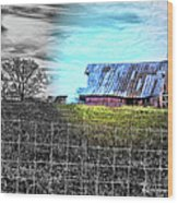 Barn 23 - Featured In Comfortable Art  And Artists Of Western Ny Groups Wood Print