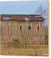 Barn 25 Wood Print