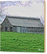 Barn 26 Wood Print