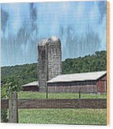 Barn 28 - Featured In Old Buildings And Ruins Group Wood Print