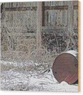 Barn #38 Wood Print by Todd Sherlock