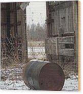 Barn #40 Wood Print by Todd Sherlock