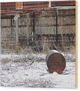 Barn #41 Wood Print