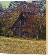 Barn And Diamond Reo-featured In Barns Big And Small Group Wood Print