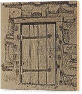Barn Door Wood Print
