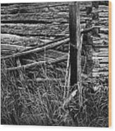 Barn Edge  Wood Print