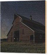 Barn II Wood Print