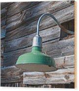 Barn Light Wood Print