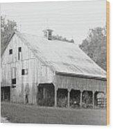 Barn Missouri Bottomlands Wood Print