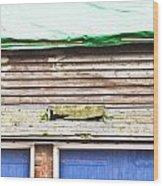 Barn Repairs Wood Print
