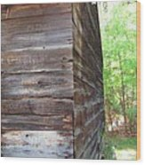 Barn Side Story Wood Print
