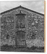 Barn Sienna Wood Print