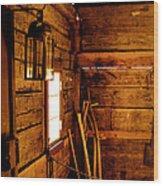 Barn Tools Wood Print