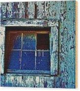 Barn Window 1 Wood Print