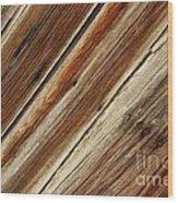 Barn Wood Detail Wood Print