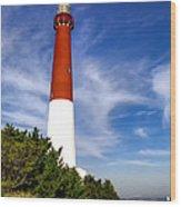 Barnaget Lighthouse Wood Print