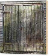 Barndoors  Wood Print
