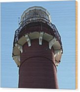 Barnegat Light - Lighthouse Top Wood Print