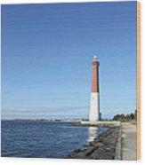 Barnegat Light - New Jersey Wood Print