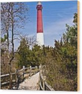 Barnegat Lighthouse II Wood Print