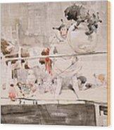 Barnet Fair Wood Print