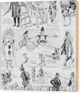 Barnum And Bailey, 1898 Wood Print