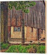 Barnyard 2 Wood Print
