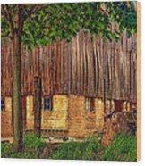 Barnyard Wood Print