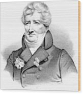 Baron Georges Cuvier (1769-1832) Wood Print