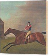 Baronet With Sam Chifney Up Wood Print