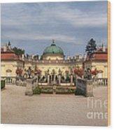 Baroque Landmark - Buchlovice Castle Wood Print
