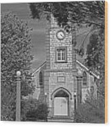 Barossa Valley Church Wood Print by Gordon  Grimwade