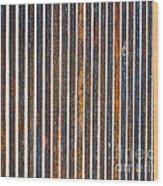 Barred Wood Print