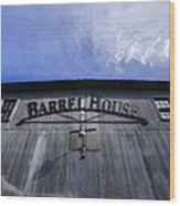 Barrel House One Wood Print