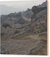 Barren Landscape South Of Qobustan Wood Print